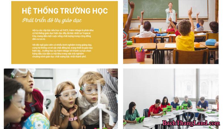 Trường học dự án FLC Tropical City Hạ Long