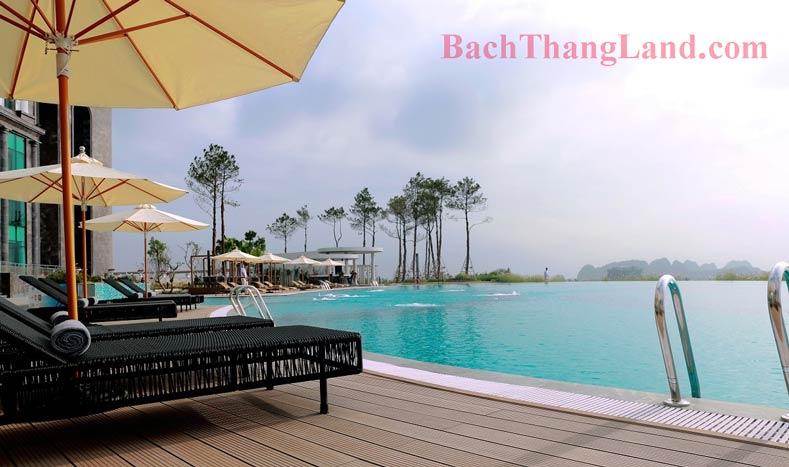 Bể bơi club house FLC Tropical City Hạ Long