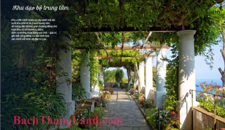 Đường đi bộ FLC Hạ Long Botanic Garden