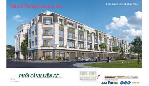 Liền kề căn góc 105 m2 khu Bali Forest FLC Tropical City