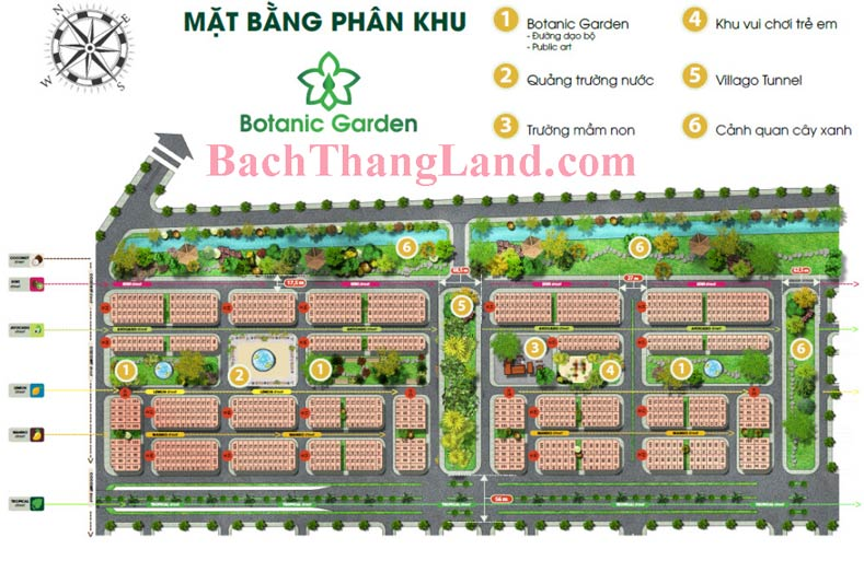 Mặt bằng khu botanic garden FLC Tropical City Hạ Long cao cấp