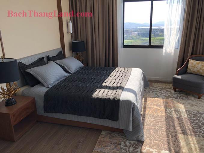 Phòng ngủ trong Biệt thự Nghỉ Dưỡng Hạ Long
