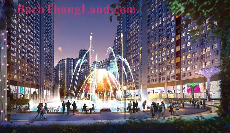 Quảng trường nước Botanic garden FLC Hạ Long
