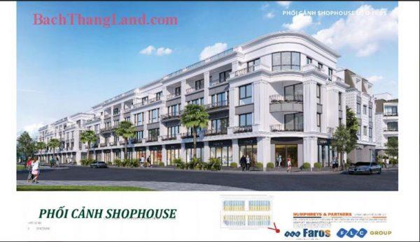 Shophouse 75 m2 khu Bali Forest FLC Tropical City Hạ Long tiềm năng tăng giá cao