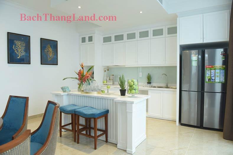 Trang trí phòng ăn khu biệt thự nghỉ dưỡng FLC Hạ Long