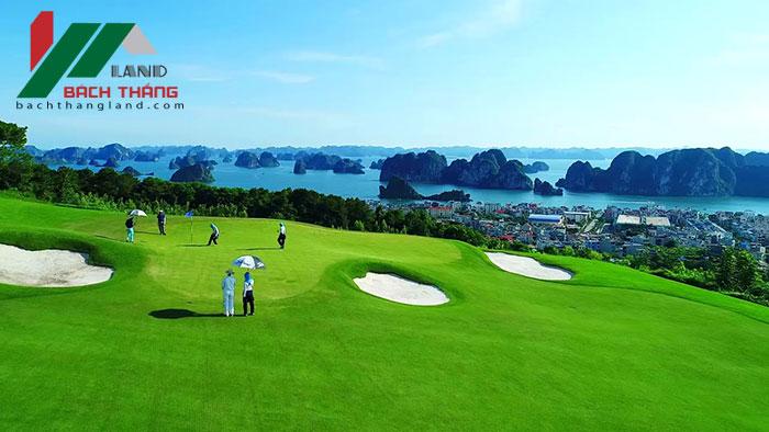 sân chơi golf flc hạ long