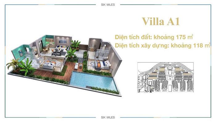 mẫu villa A1 6 miles coast