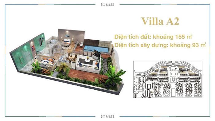mẫu villa A2 6 miles coast